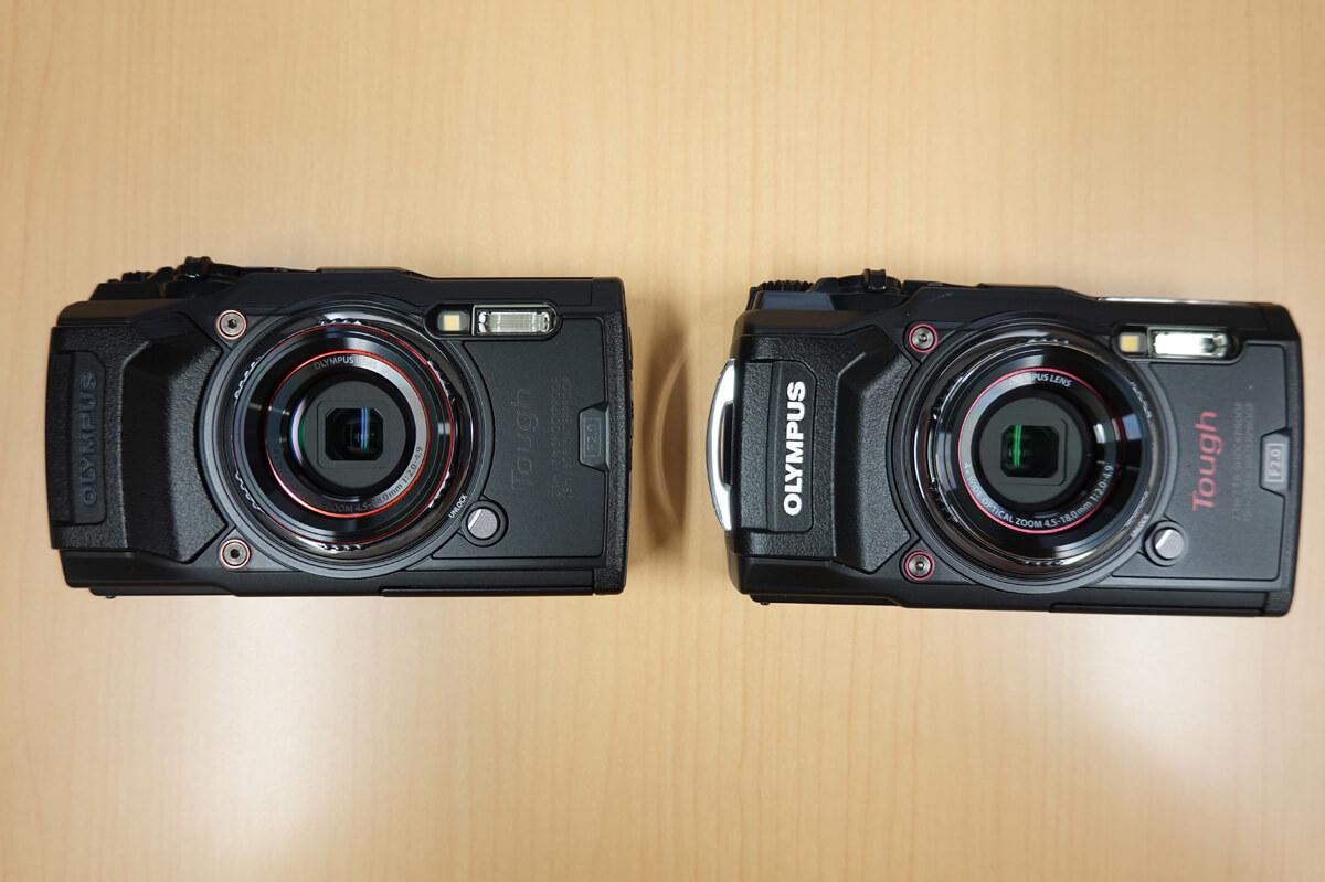新しい「TG-6」と前モデル「TG-5」の違いを比較 仕様・オプションに関する違い