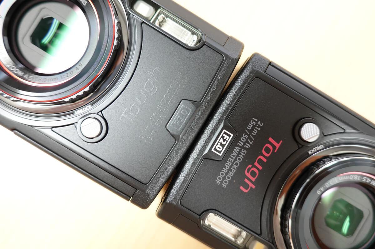 オリンパスTough TG-6とTG-5の違いを比較!新旧で水中&マクロ機能が進化した防水カメラ