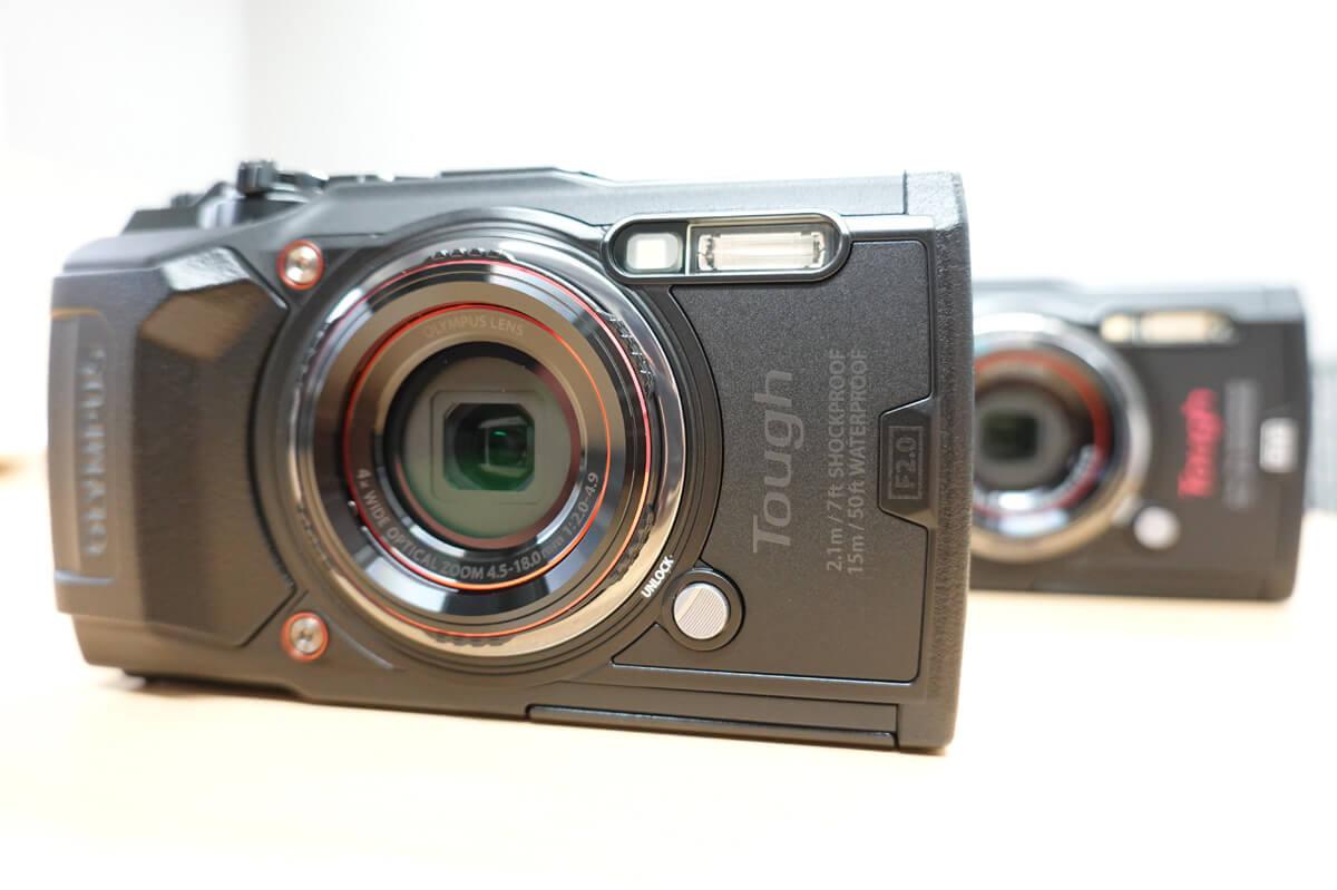 オリンパスの防水カメラ「Tough TG-6」「Tough TG-5」