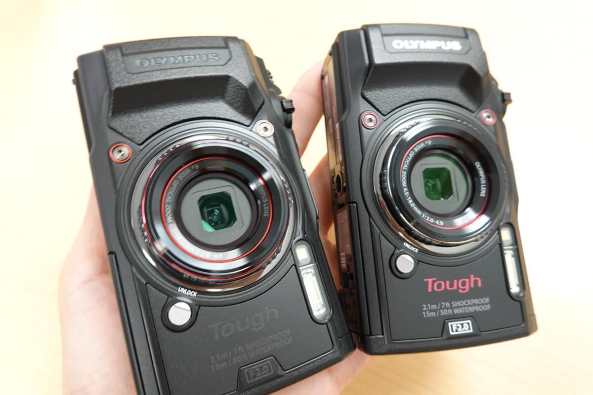 新しい「TG-6」と前モデル「TG-5」の違いを比較