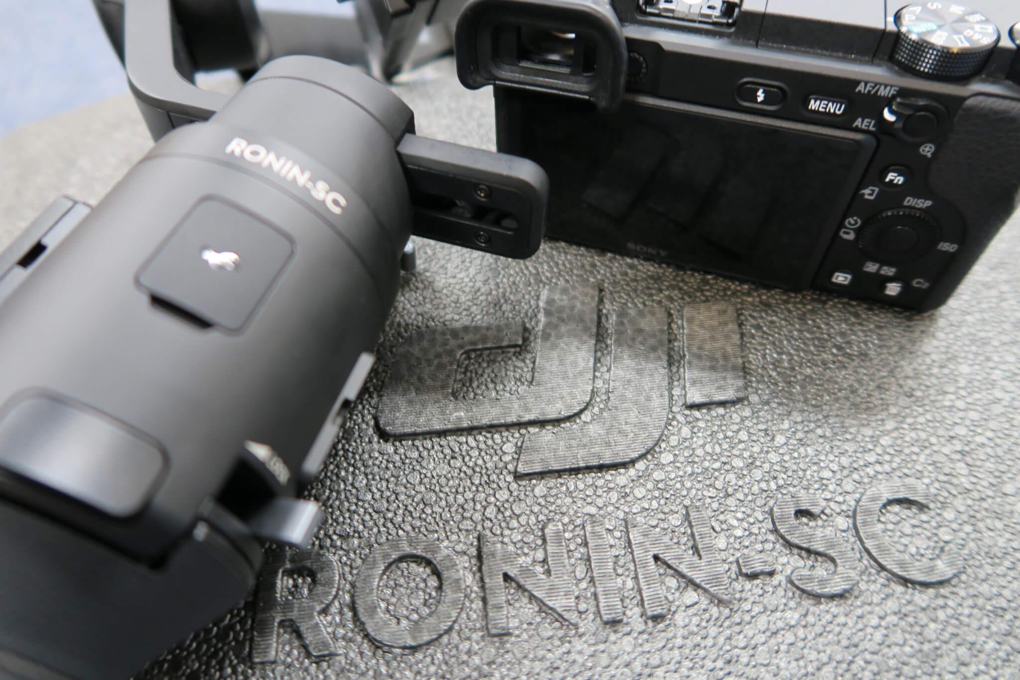 DJI Ronin-SC Proコンボ開封レビュー。その特徴と使用前の準備を徹底解説