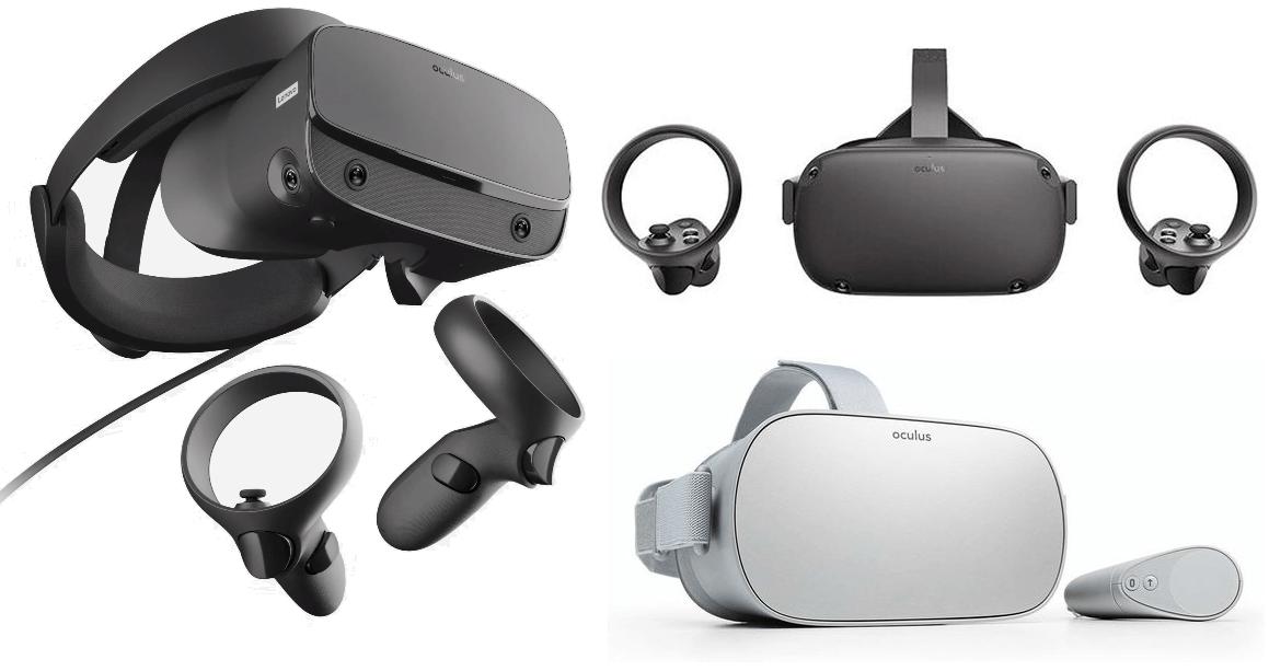 Oculus Go、Oculus Quest、Oculus Rift S、3機種を比較!どれを買うべき?