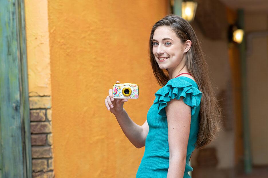「Nikon COOLPIX W150」の特徴 2. かんたん撮影&楽しく編集