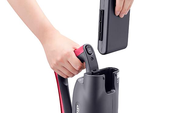 シャープのコードレススティック掃除機を5つの選び方で比較 3. バッテリーを比較