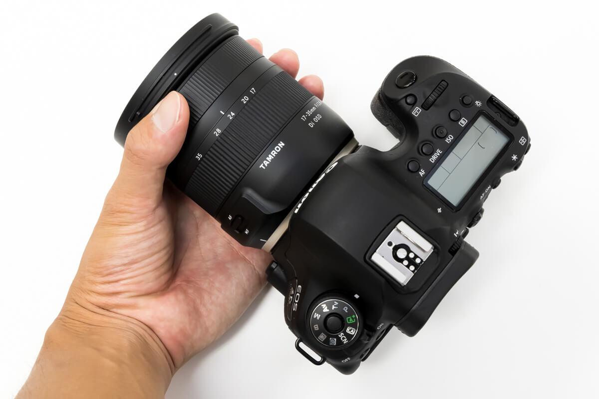 TAMRON 17-35mm F/2.8-4 Di OSD コンパクト