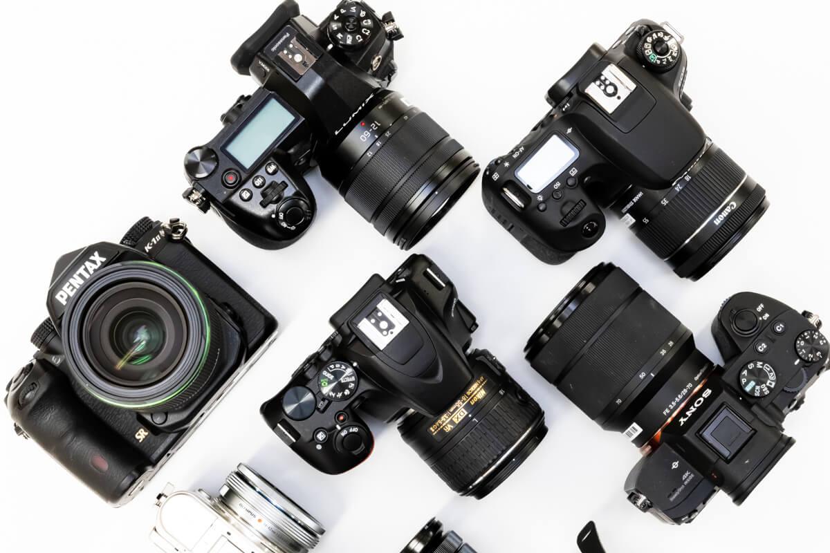 一眼カメラ メーカー 比較