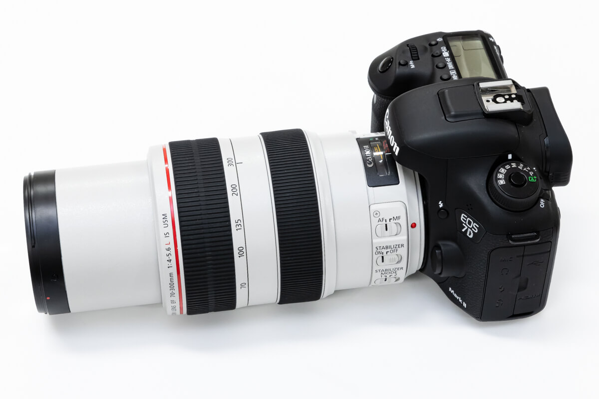 Canon EF70-300mm F4-5.6L IS USM ズーム伸縮