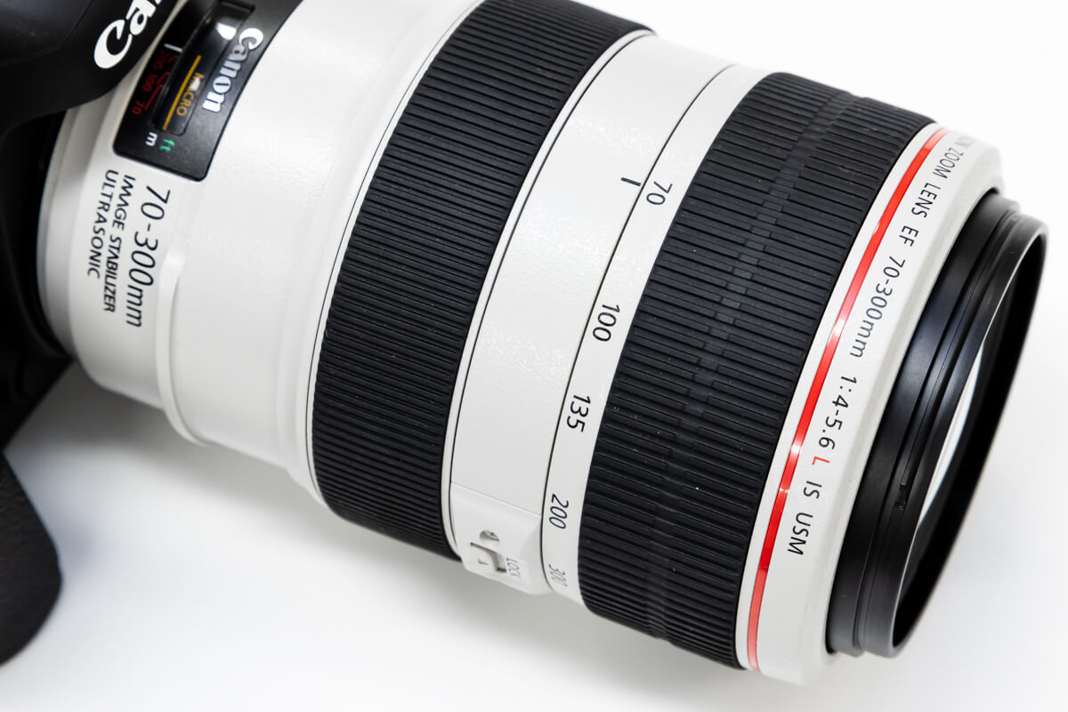 Canon EF70-300mm F4-5.6L IS USM 焦点距離
