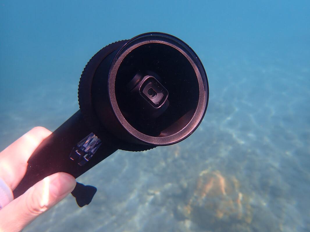 Osmo Pocketの防水ケースを海で実際使ってレビュー