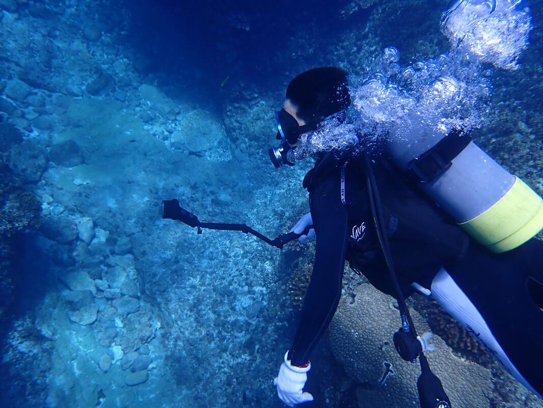 Osmo Pocketの防水ケースを海で実際使ってレビュー ダイビングでの水中撮影