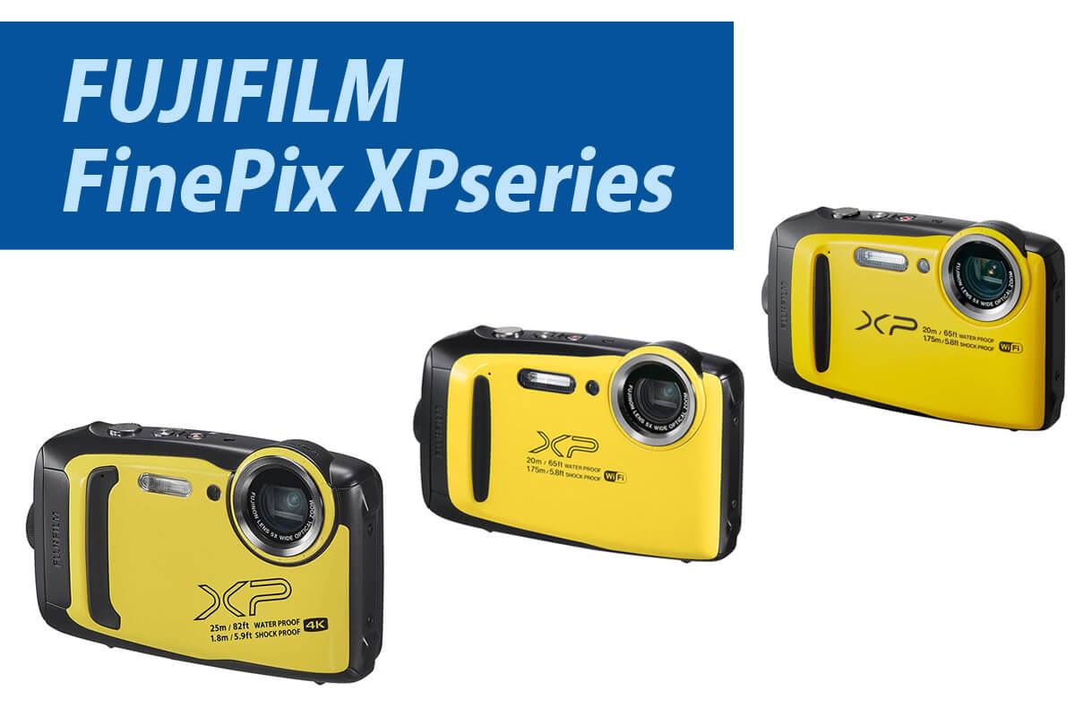 FUJIFILMの防水カメラFinePix XP140,XP130,XP120の違いを比較!新旧各機種がおすすめな人とは?
