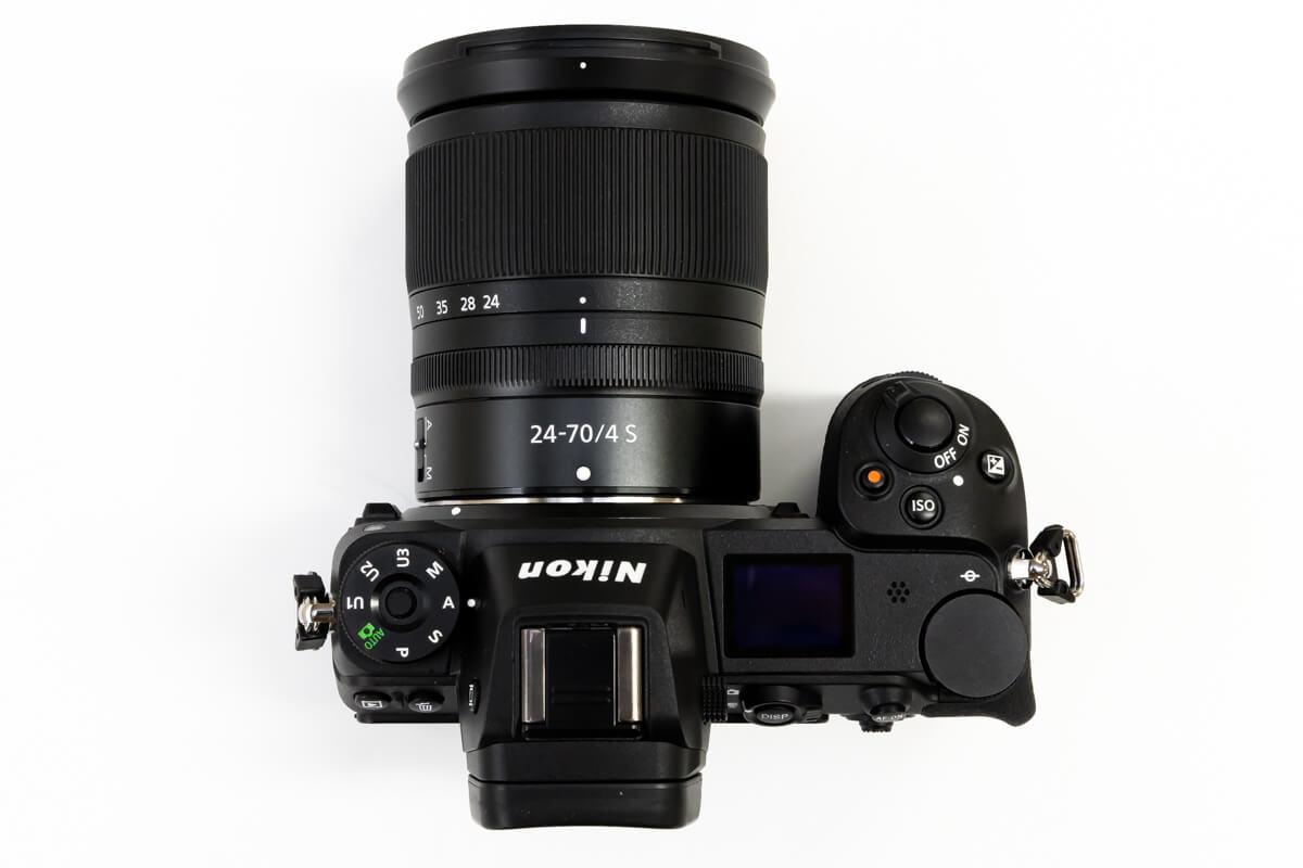 Nikon Z6 デザイン