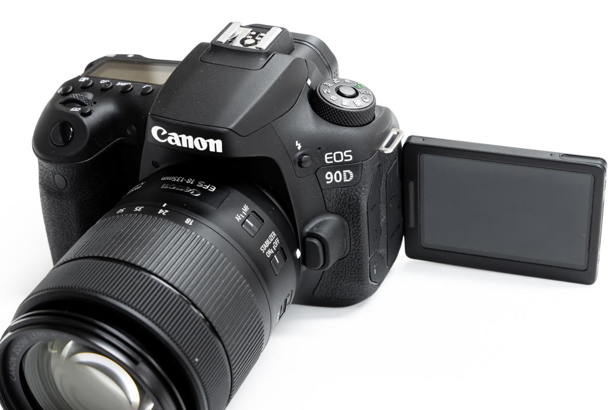 Canon EOS 90D バリアングル液晶