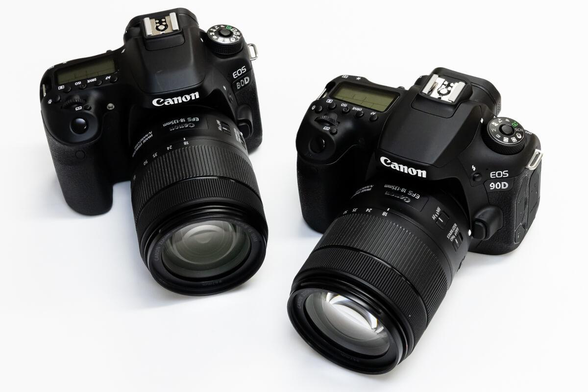 Canon EOS 90D EOS 80D 比較