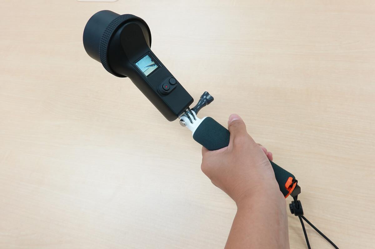 Osmo Pocketの防水ケースを海で実際使ってレビュー 防水ケースを使う準備