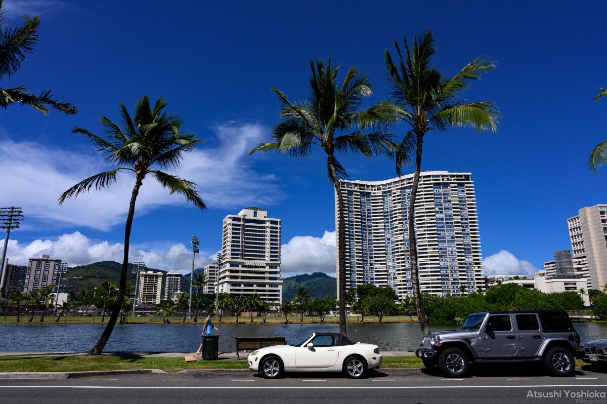 ハワイ 一人旅