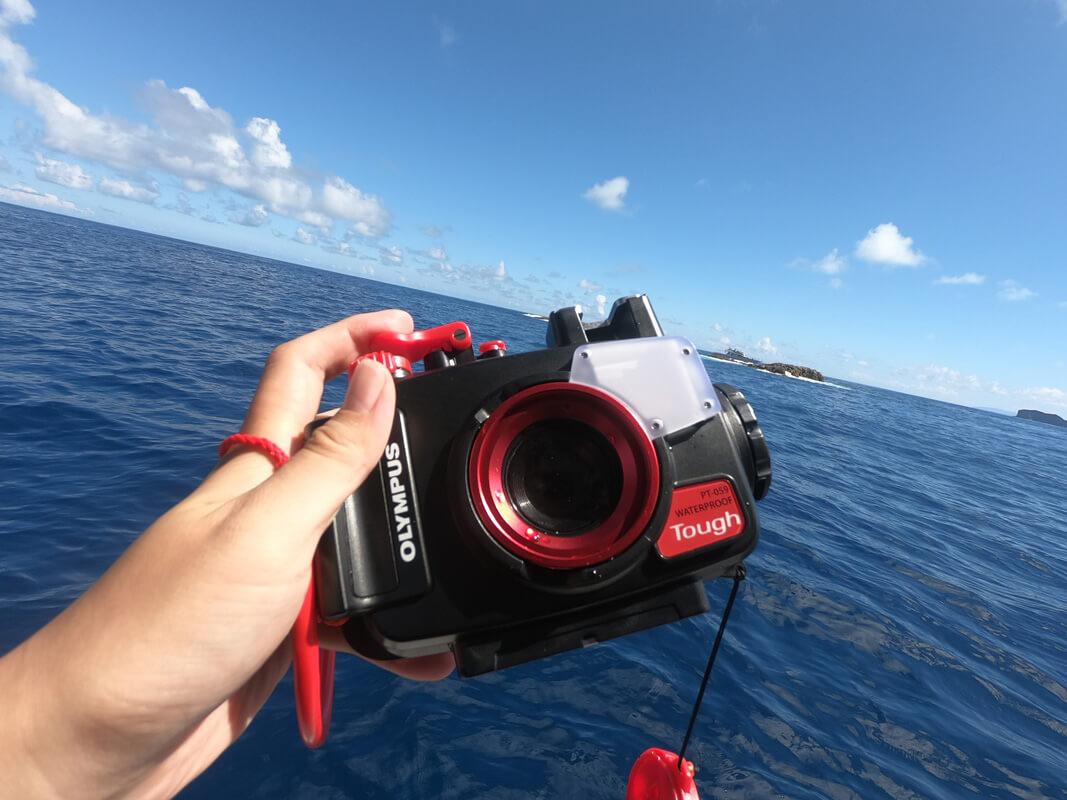 OLYMPUS新防水カメラ「Tough TG-6」青の世界を実写レビュー!ダイバーにとって最高の相棒カメラ