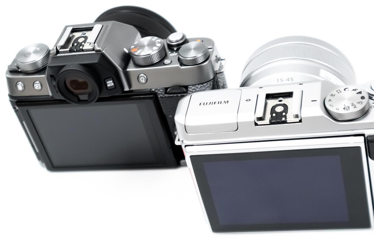 FUJIFILM X-T100 X-A5 ファインダー