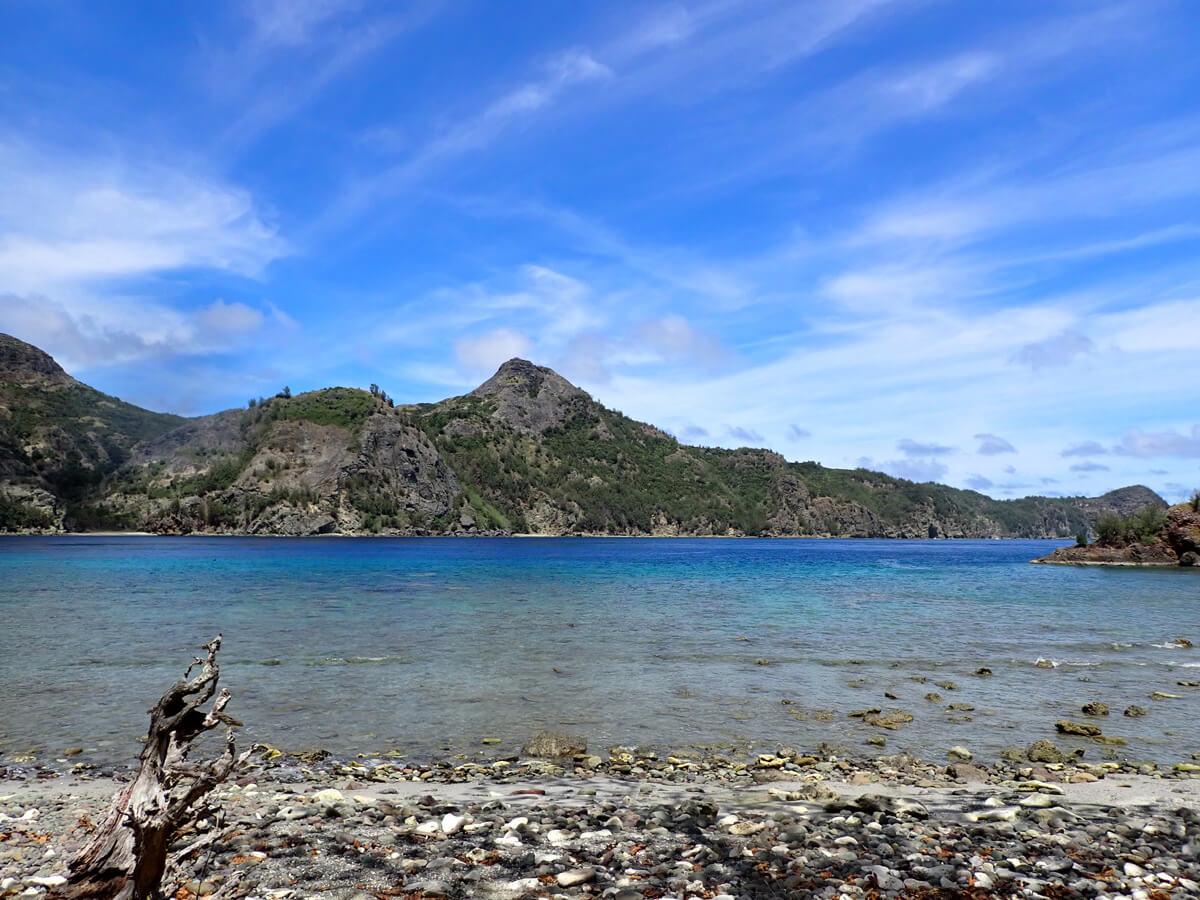 小笠原父島でおすすめのシュノーケリング・海水浴スポット 1. 釣り浜