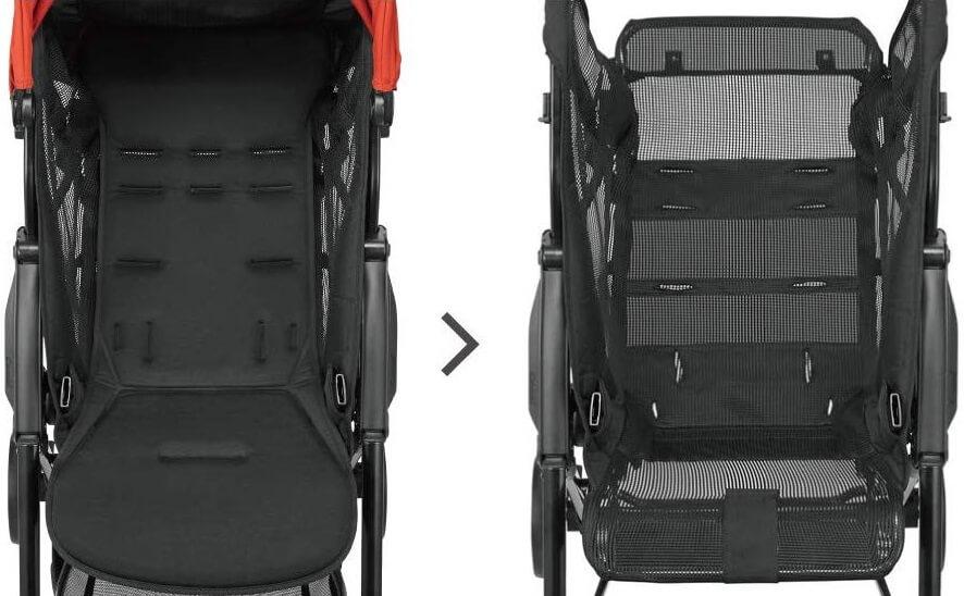 「コンビ Age(エイジ)」のデメリット ベースシートやタイヤに衝撃吸収機能が無い