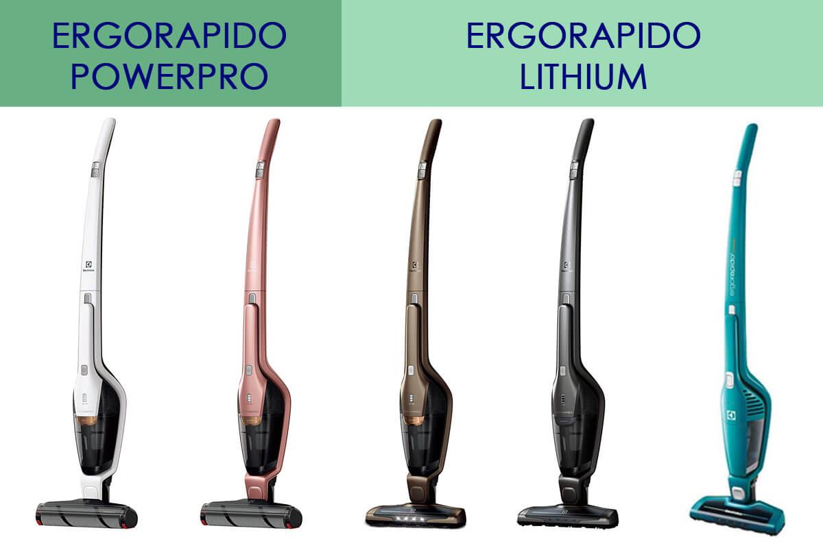 エレクトロラックスの掃除機「エルゴラピード」 現行5機種