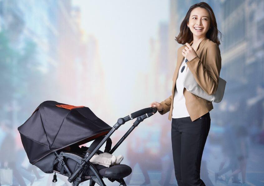 「コンビ X5(クロスゴー)」は赤ちゃんとのお出かけが楽しくなるベビーカー