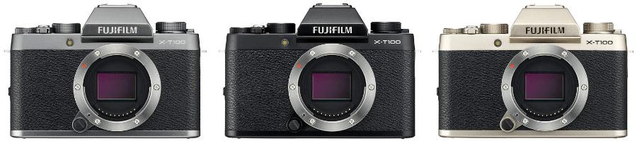 FUJIFILM X-T100 カラーバリエーション