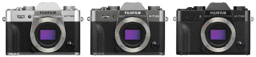 FUJIFILM X-T30 カラーバリエーション