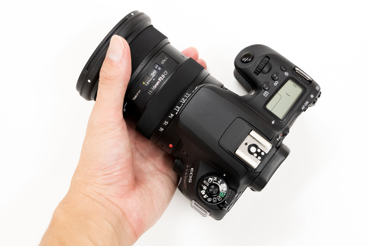 Tokina atx-i 11-16mm F2.8 CF 携帯性