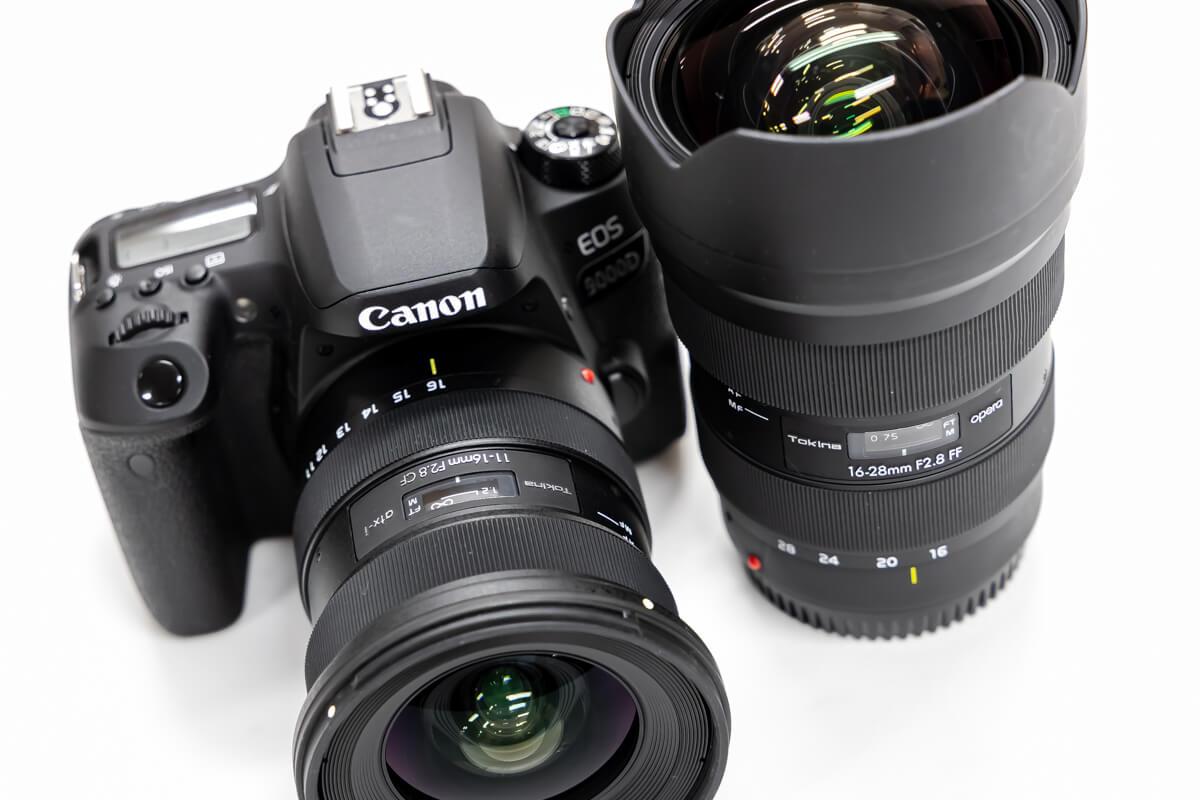Tokina atx-i 11-16mm F2.8 CF デザイン