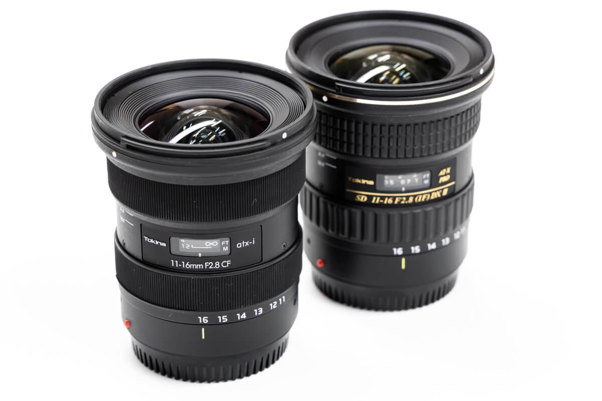 Tokina atx-i 11-16mm F2.8 CF リニューアル