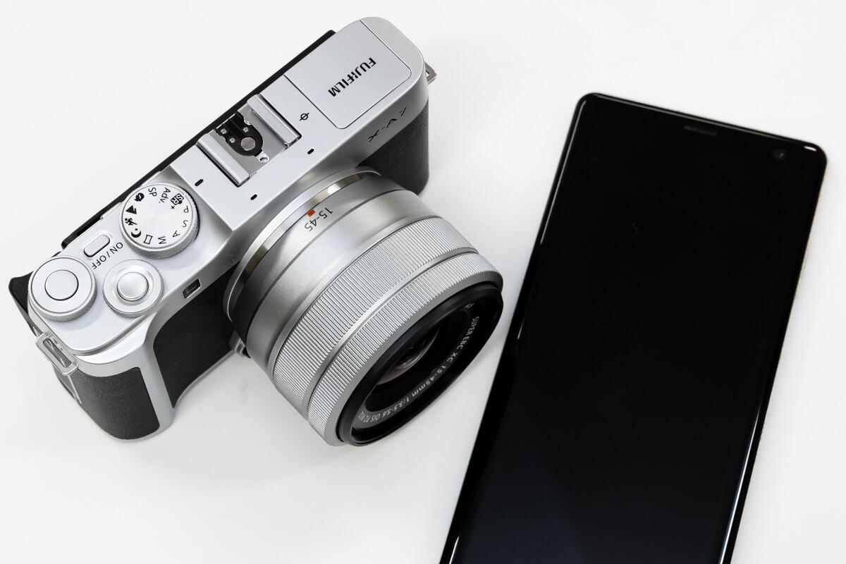 FUJIFILM X-A7 スマートフォン連携