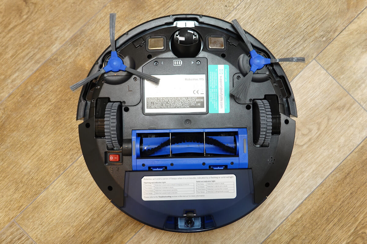 Anker Eufy RoboVac 11Sを実際に使ってレビュー Eufy RoboVac 11S 外観レビュー 裏面