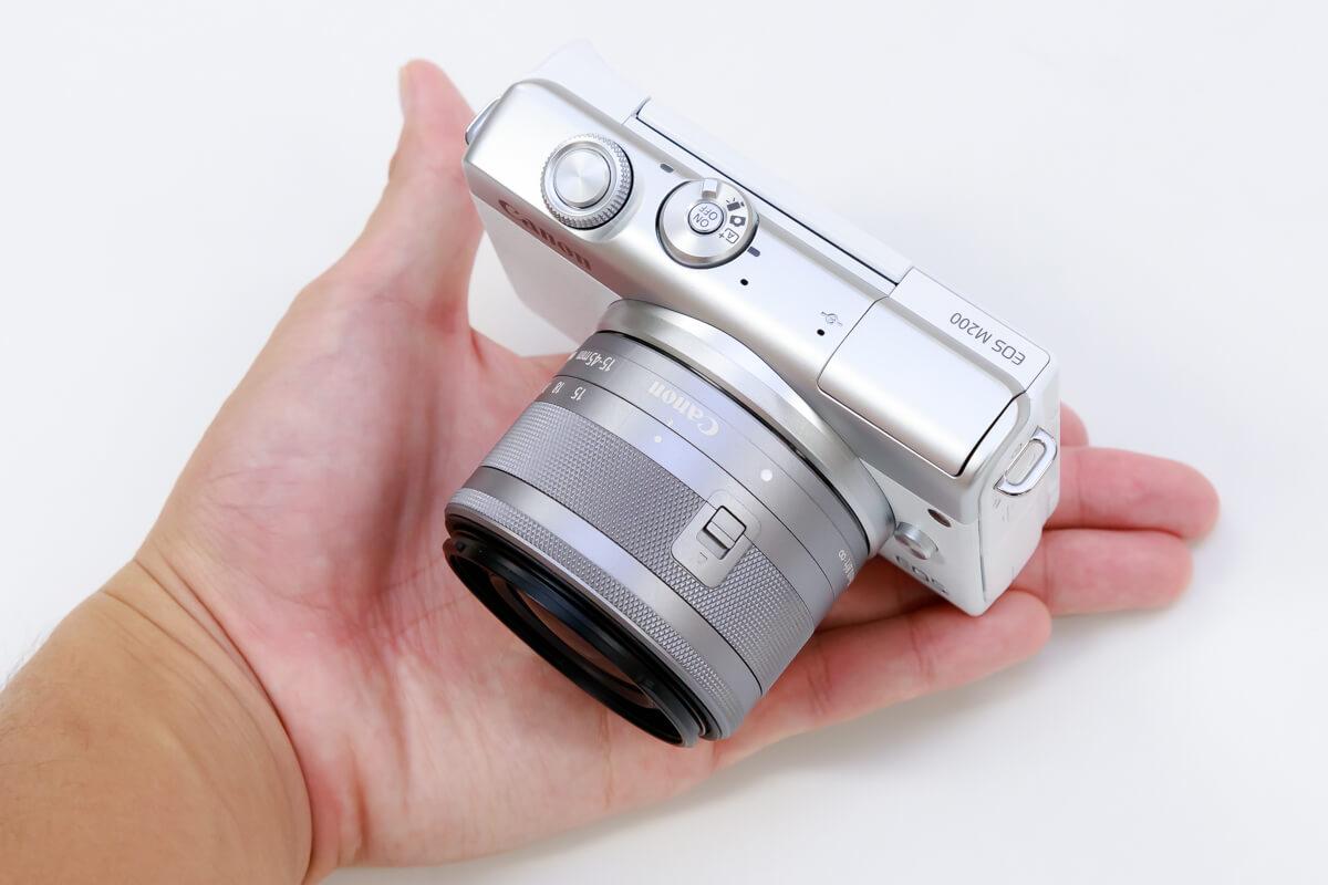 Canon EOS M200 レビュー