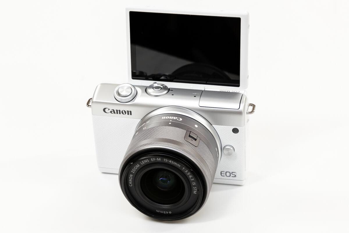 Canon EOS M200 チルト式液晶