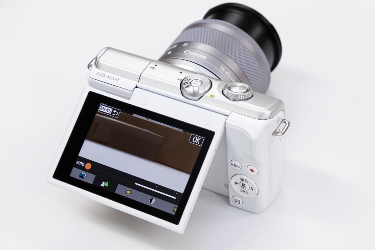 Canon EOS M200 クリエイティブアシスト
