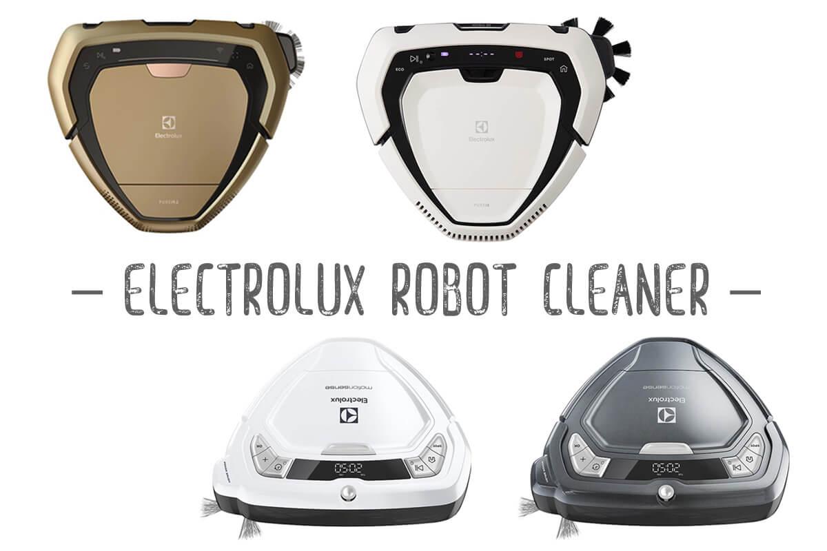 Electrolux(エレクトロラックス)のロボット掃除機 全4種を一覧表で比較!おすすめと選び方を紹介