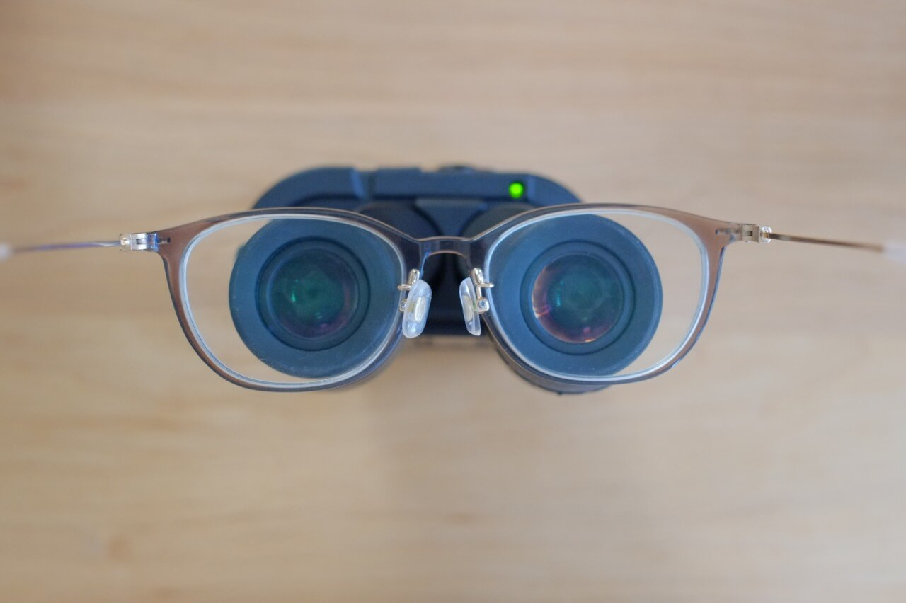 VC smart 防振双眼鏡 眼鏡  使い方