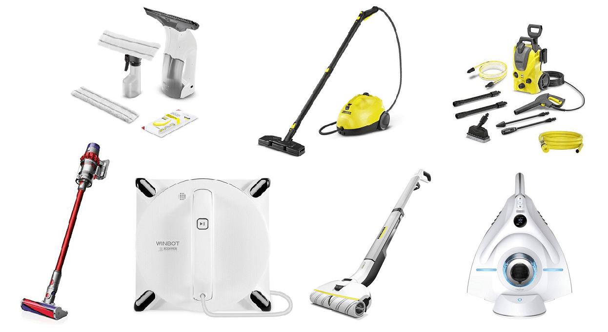 大掃除に役立つおすすめ家電のご紹介!お掃除箇所別に7つの商品をご紹介します!