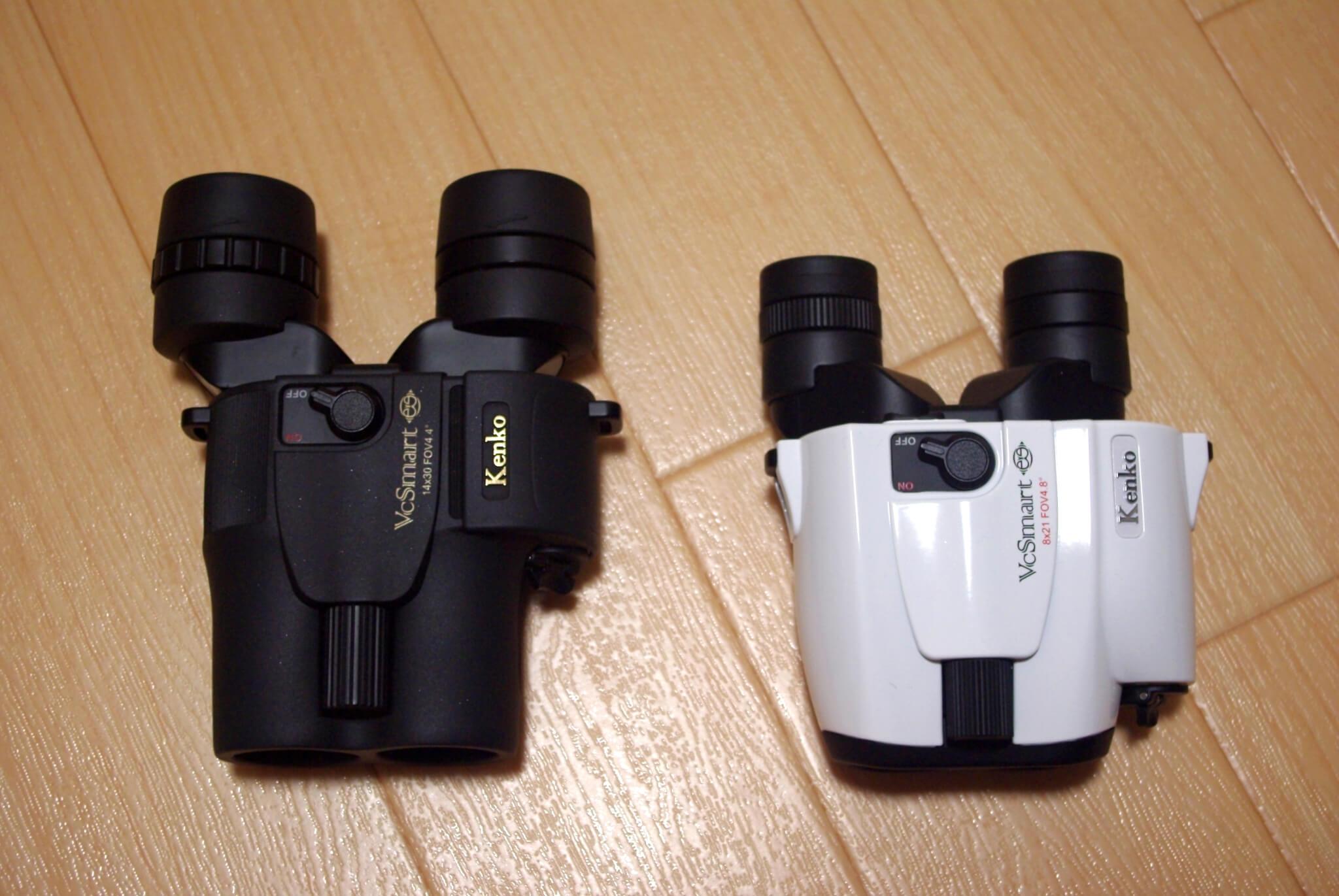 ケンコー防振双眼鏡「VCスマート」シリーズの違いを比較 アイレリーフ