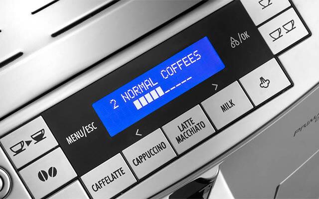 デロンギの全自動コーヒーメーカー「エレッタカプチーノトップ」の特長 操作やお手入れがしやすいフロントオペレーション設計