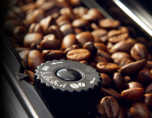 デロンギの全自動コーヒーメーカー「マグニフィカ」の特長グラインダーで毎回挽きたての美味しさ