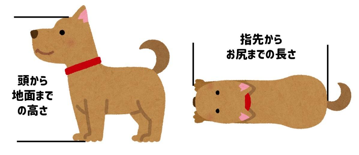 中型犬用ペットカートの失敗しない選び方のポイント 1. 愛犬のサイズや頭数 キャリーの内寸も確認