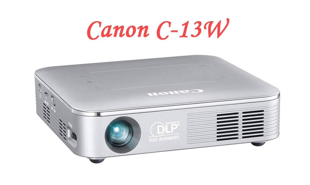 Canon C-13W の特長とデメリットを調査!本体のみ投影&多彩な接続方法が魅力のモバイルプロジェクター