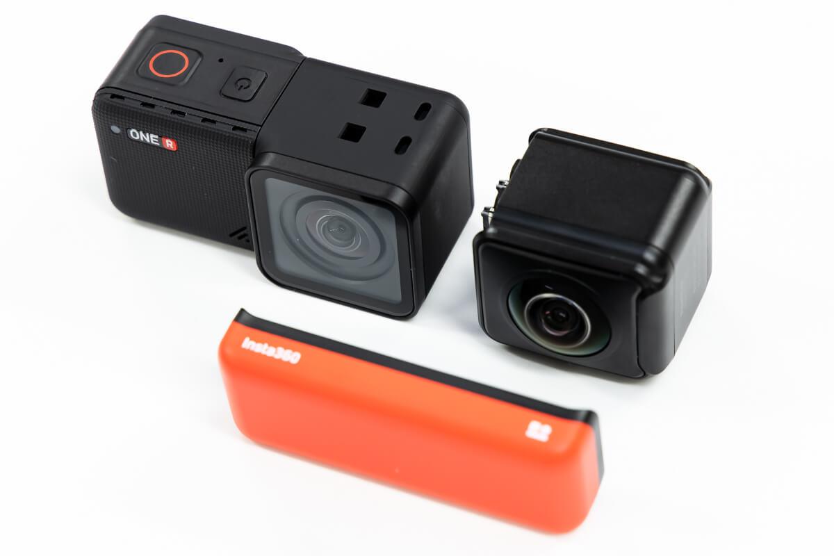 Insta360 ONE R アクションカム 360度カメラ