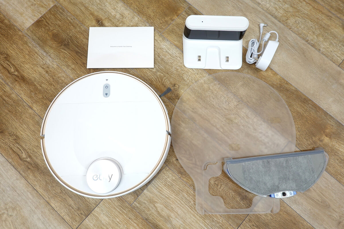 Anker Eufy RoboVac L70 Hybridを実際に使ってレビュー Eufy RoboVac L70 Hybridの同梱品