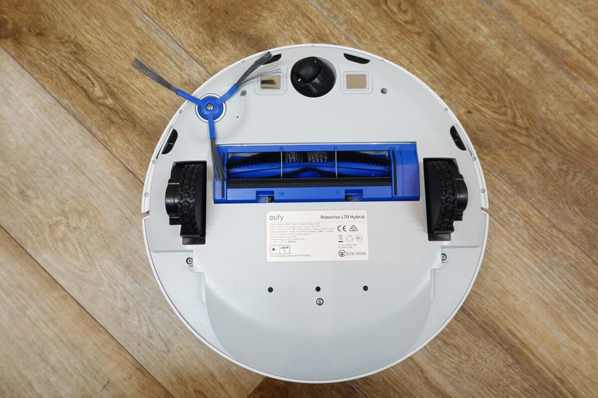 Anker Eufy RoboVac L70 Hybridを実際に使ってレビュー Eufy RoboVac L70 Hybrid 外観レビュー 裏面