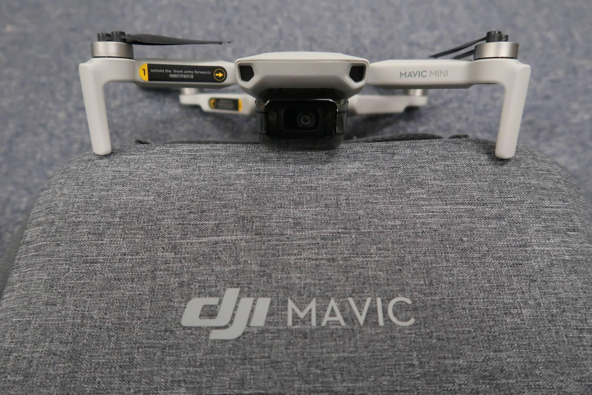 DJI Mavic Mini Fly More コンボ 初期設定~飛行を写真付レビュー!小型ドローン他機種とも比較し実力を検証