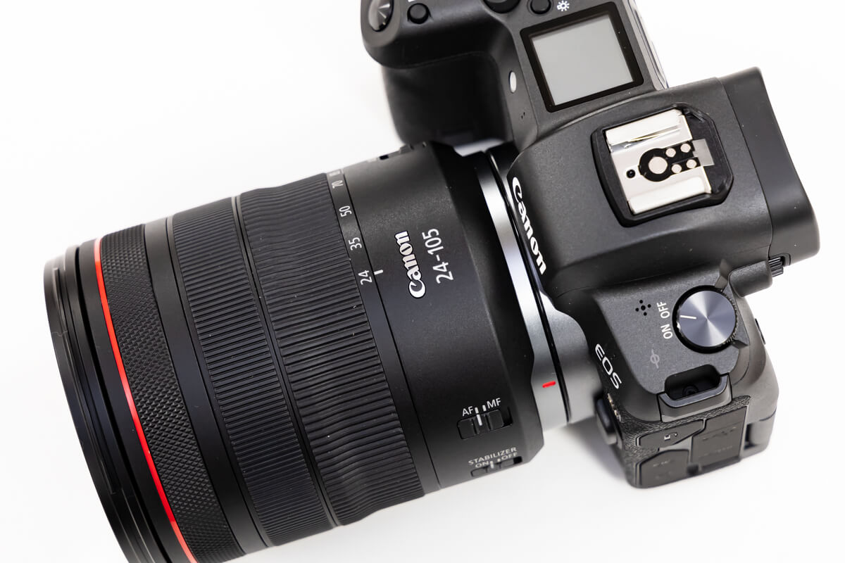 RF24-105mm F4L IS USM 王道 標準レンズ