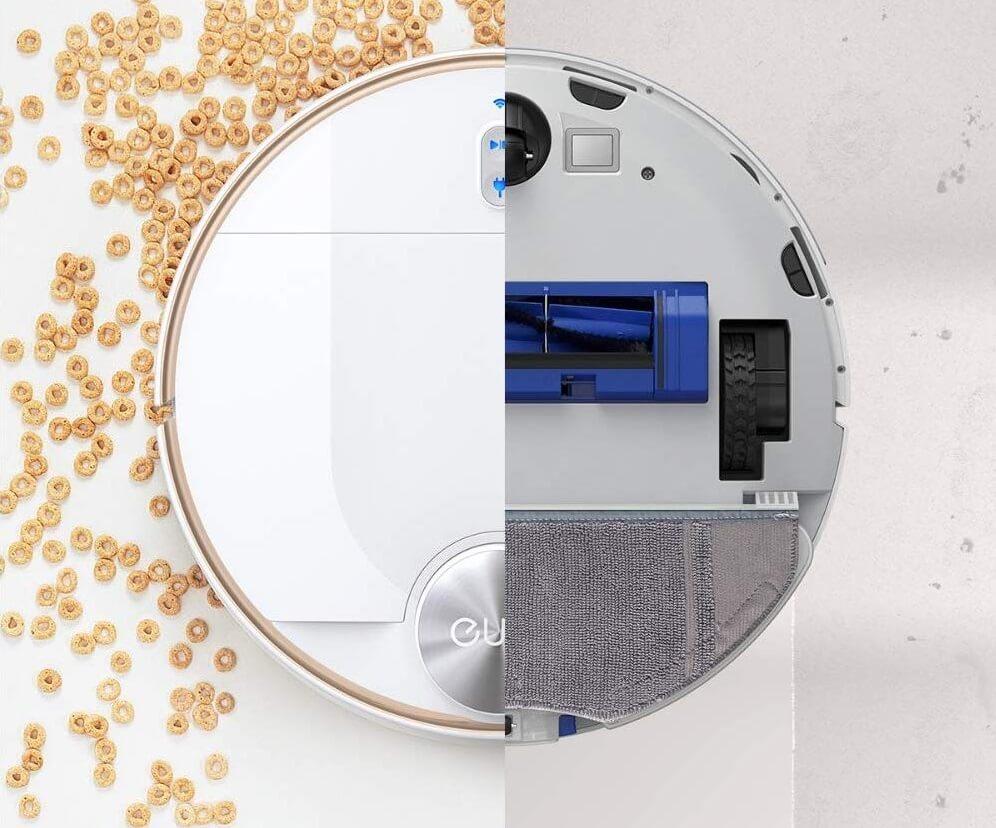 Anker Eufy RoboVac L70 Hybridの6つの魅力 2. 吸引と水拭きが同時にできるモッピングモード